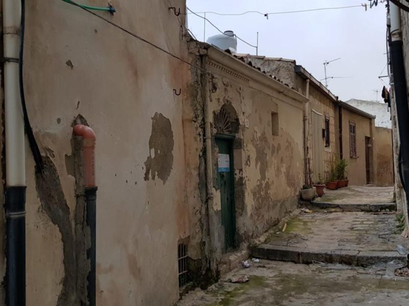 Hus på Sicilien